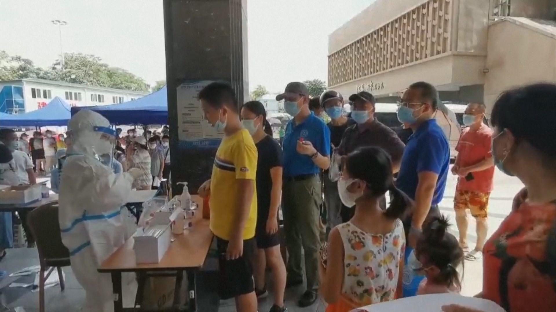 南京爆疫情政府查詢熱線打不通 官員:深表歉意
