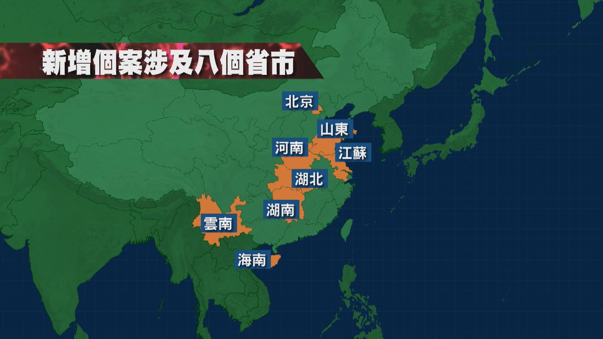 內地增近百宗本地確診 專家:鄭州應預防病毒水源傳播