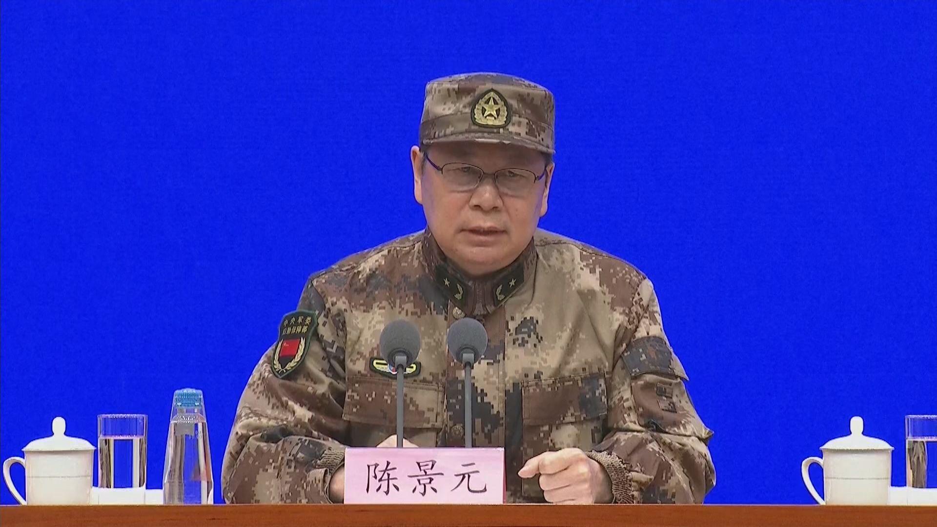 解放軍至今未見公布病例 軍方指採取了多項措施防疫