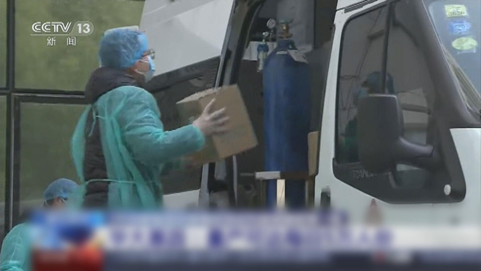 武漢市面冷清 有醫院指醫療物資仍不足
