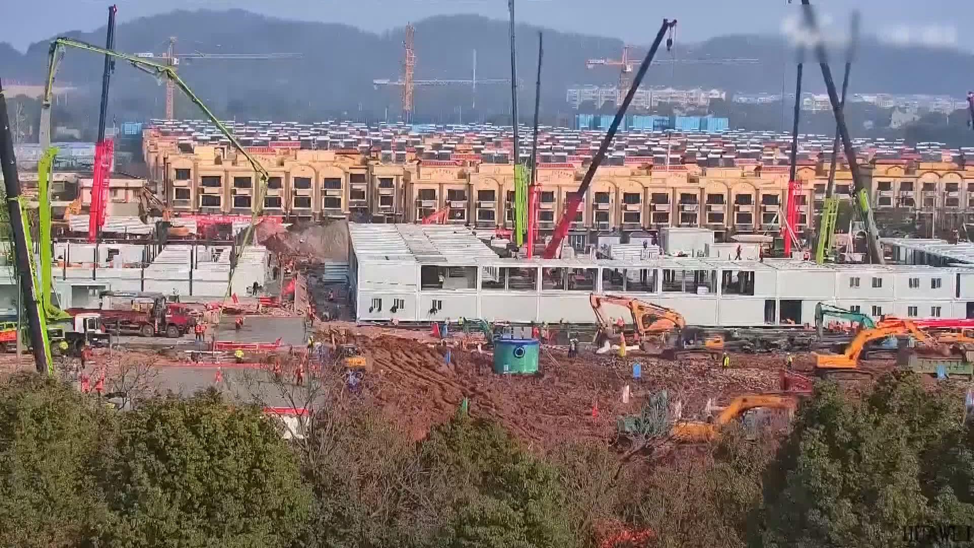 武漢火神山醫院2月3日可收治病人