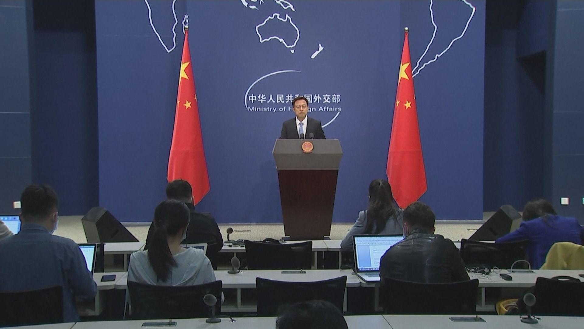 外交部:中美應繼續加強抗疫合作