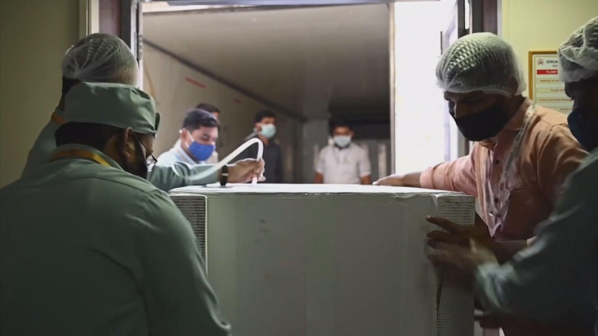 首批世衛主導新冠疫苗計劃疫苗運抵非洲加納