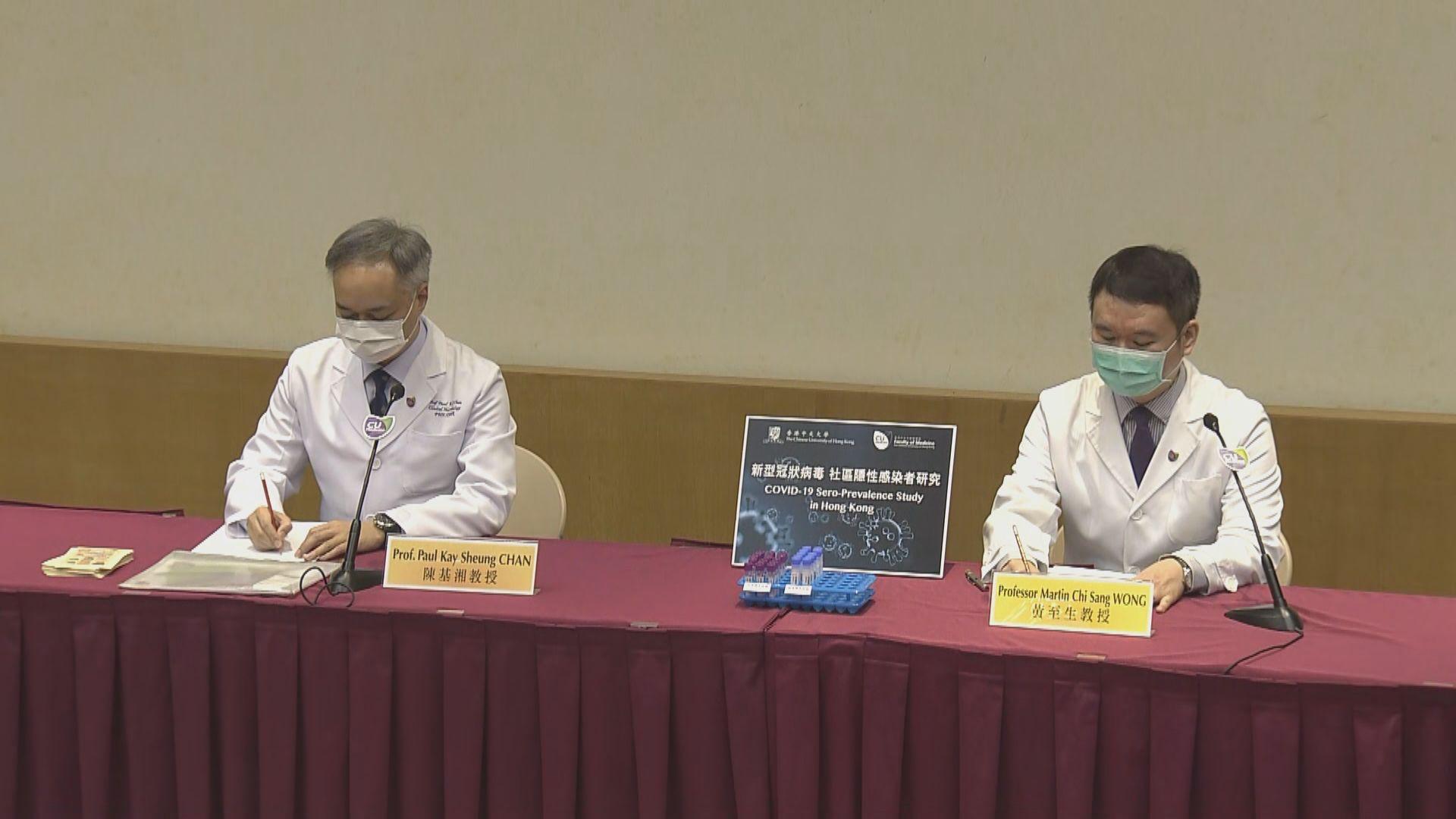 中大醫學院招募三千人研究新冠病毒隱性感染