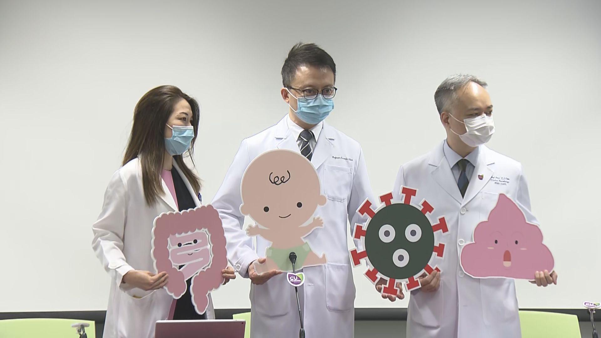 中大證實腸道糞便可帶病毒 擬與政府討論修訂出院指引
