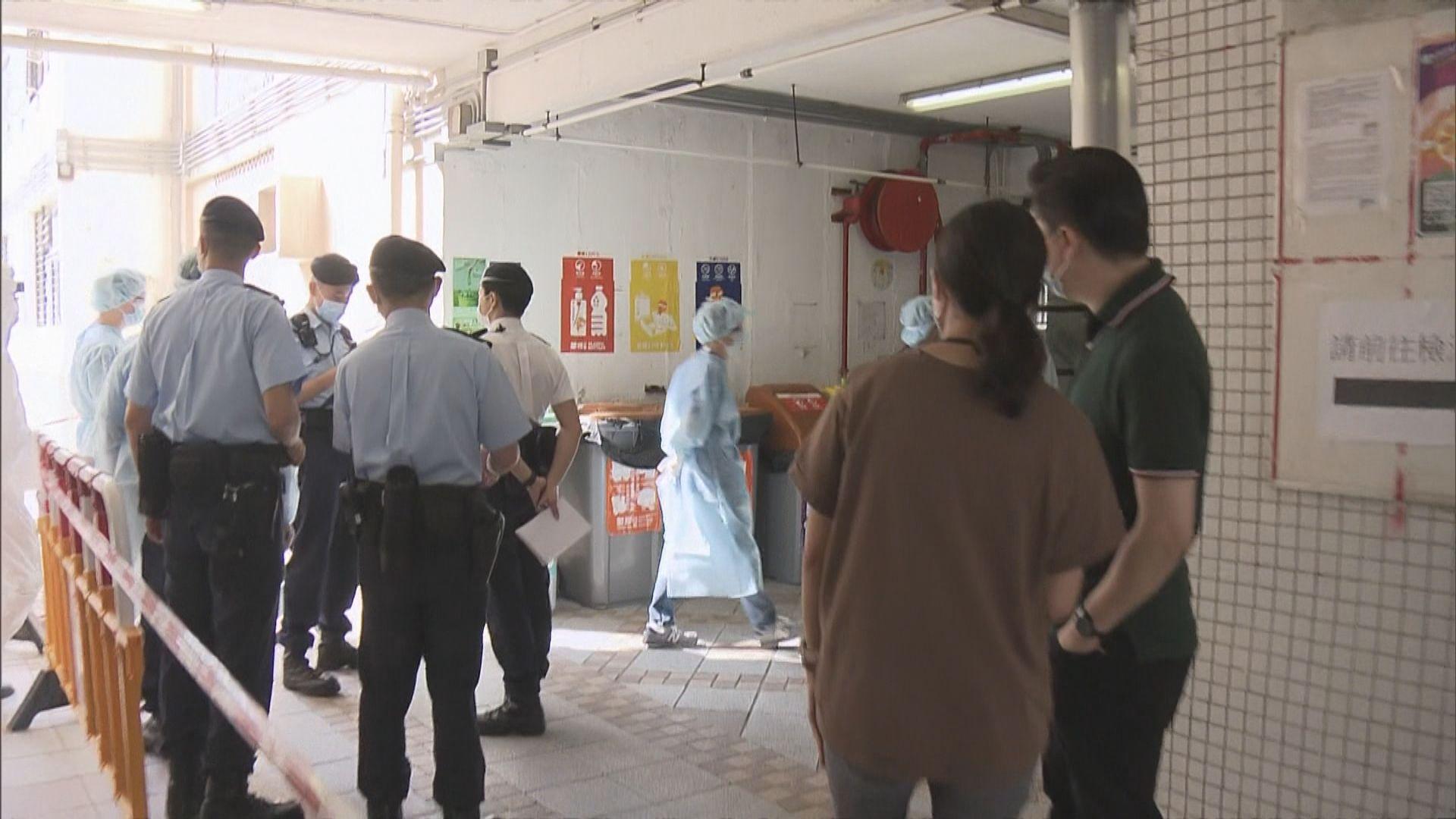 柴灣興華二邨豐興樓260戶住客須強檢 早上仍未解封