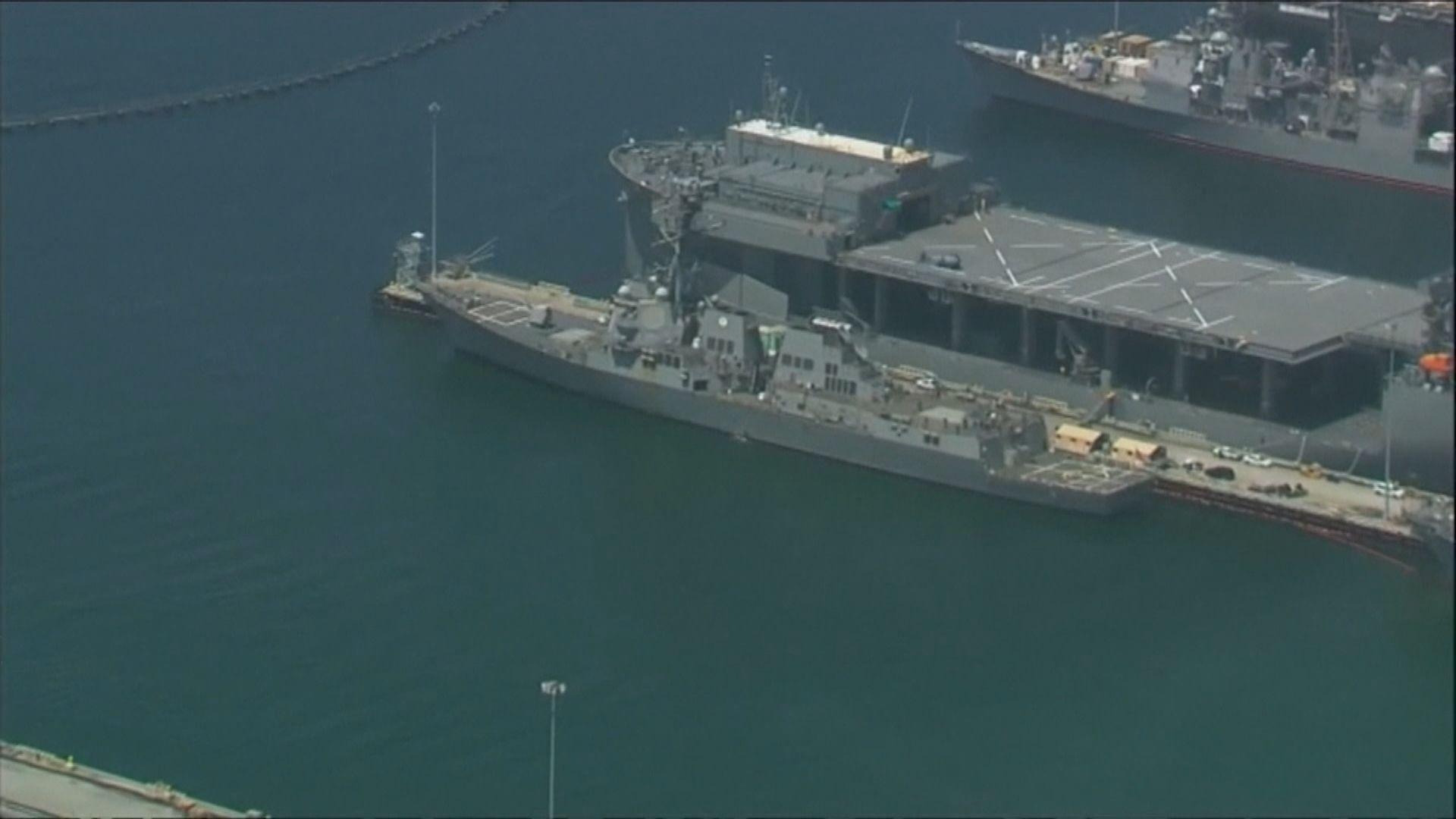 美軍驅逐艦基德號增至64人確診