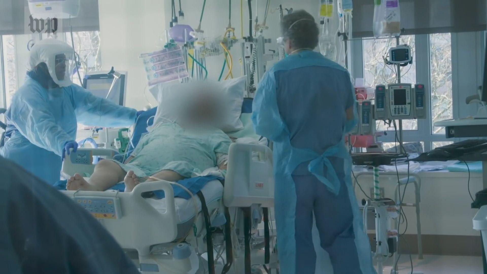 疫情下患者被迫孤獨離世 親友只能以電子儀器作別