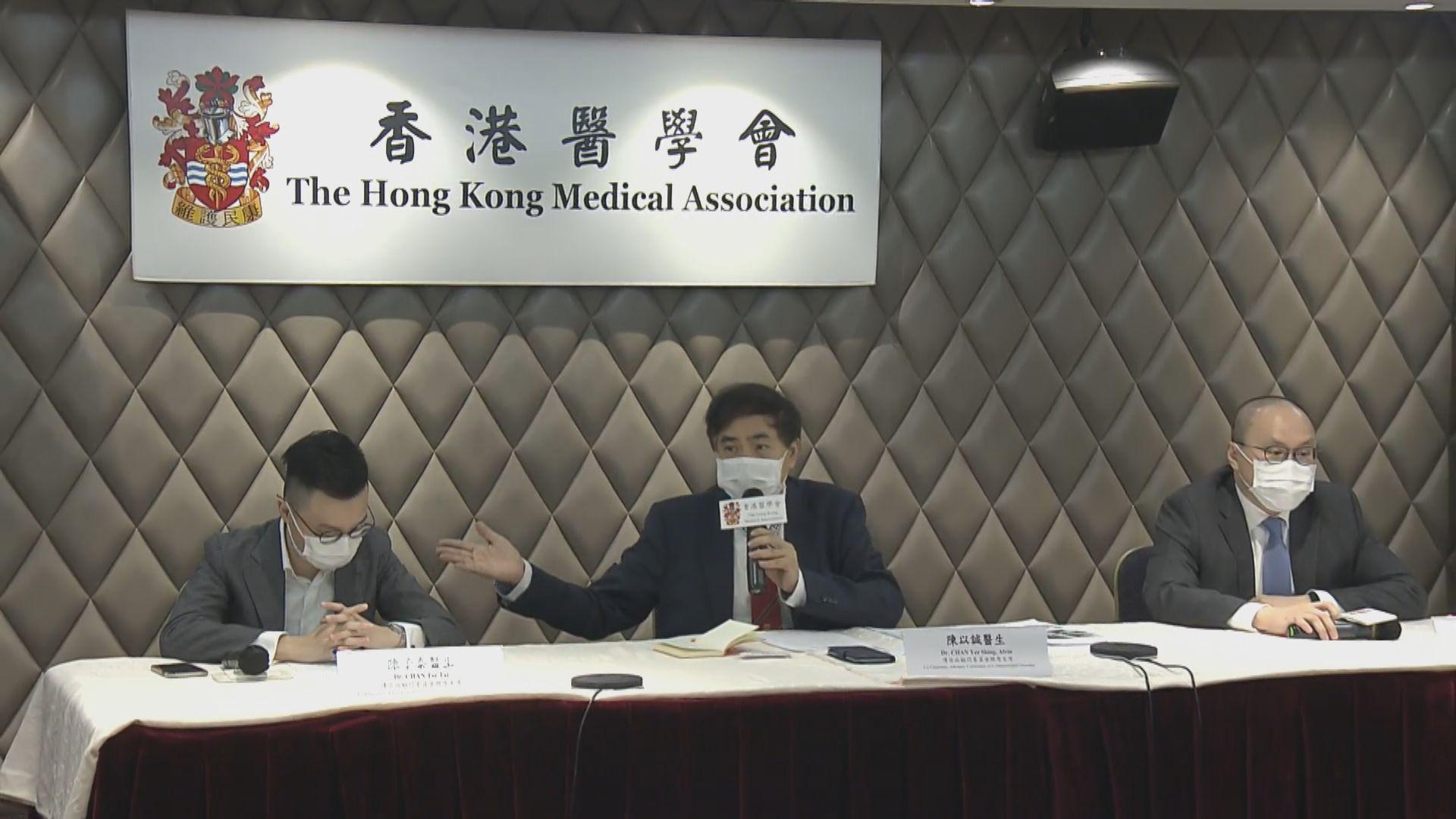 醫學會:全民檢測之外 應繼續為高危群組測試