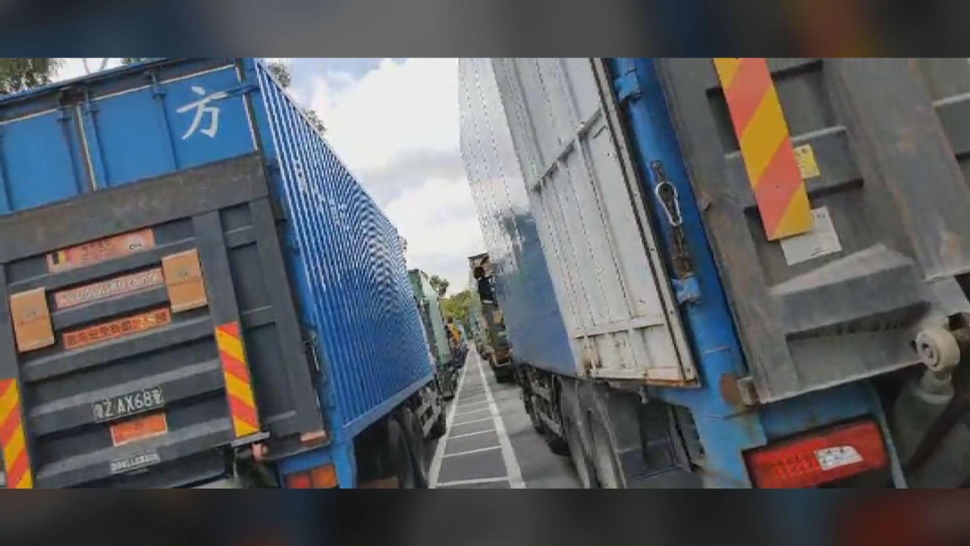 內地指跨境貨車司機入境新措施經粵港溝通協商後實施