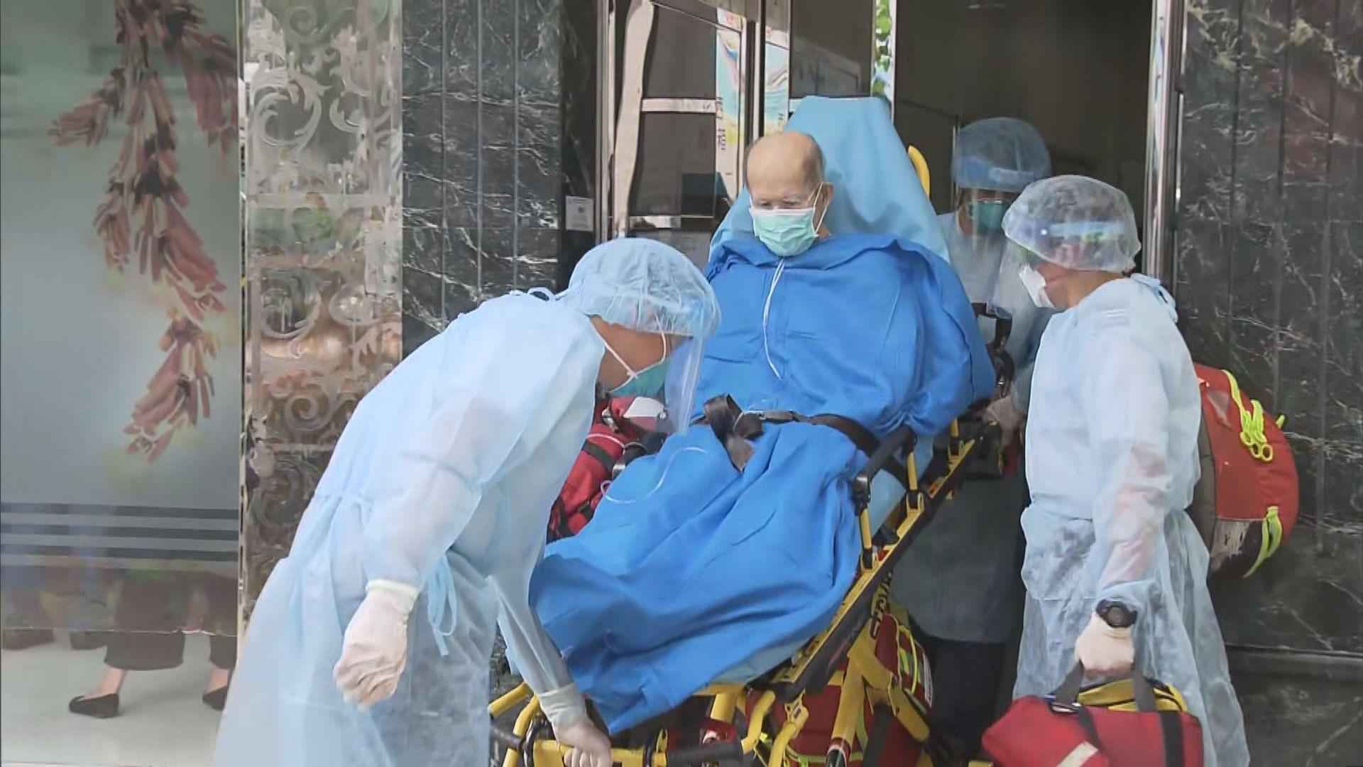 港泰護老中心爆疫情 院友及職員送檢疫中心