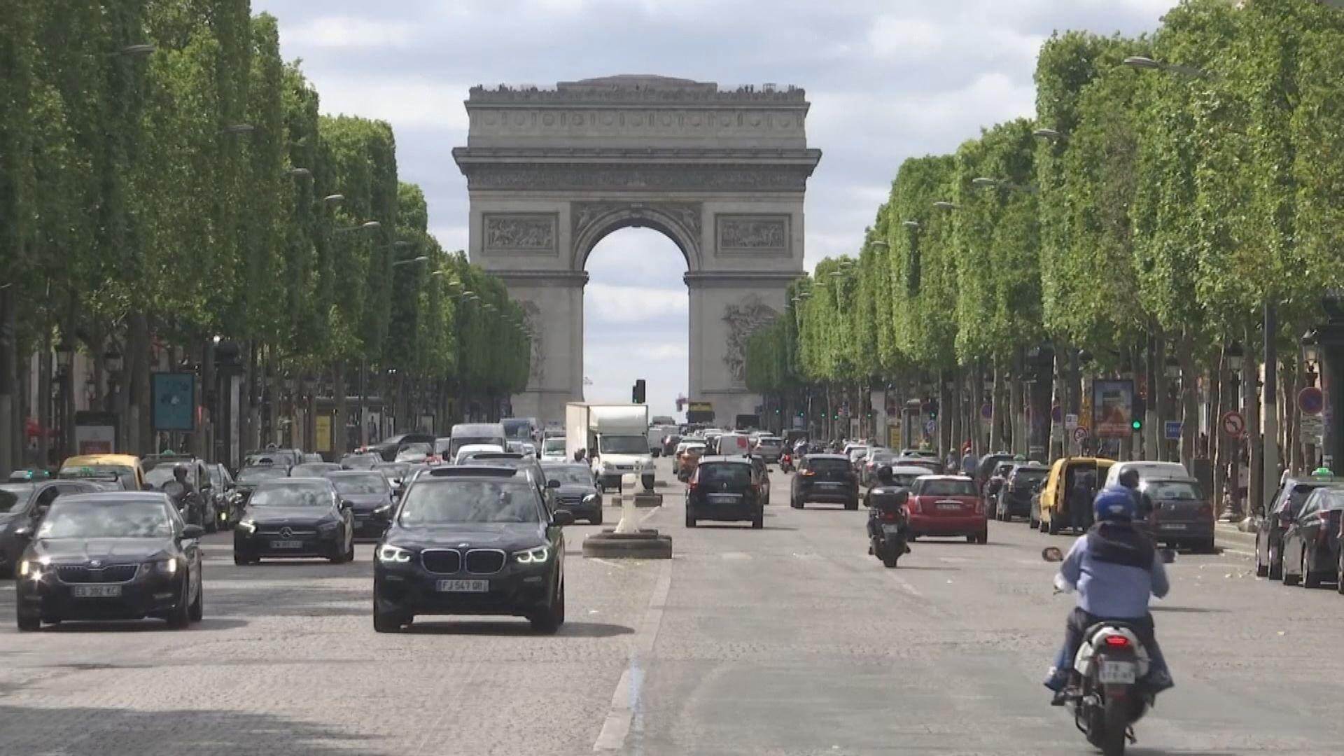 法國兩個城市提升防疫警戒級別至最高