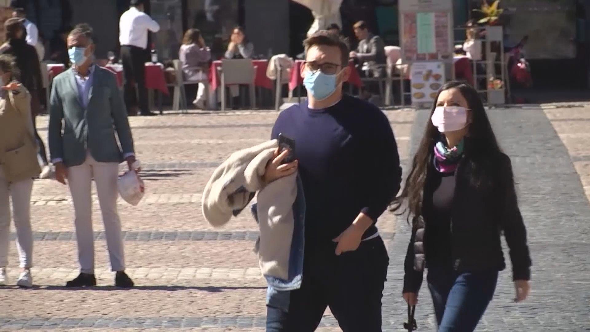 歐洲疫情嚴重 西班牙確診累計破百萬部分地區或需宵禁
