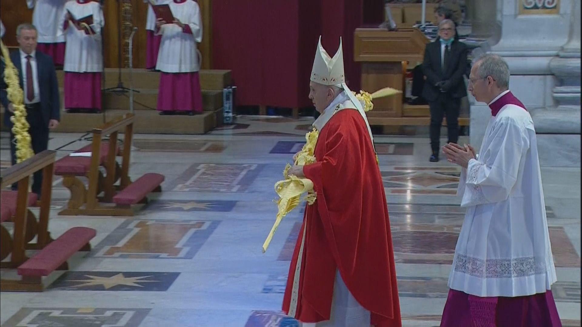 西班牙疫情死亡人數連續三天下降 教宗閉門崇拜