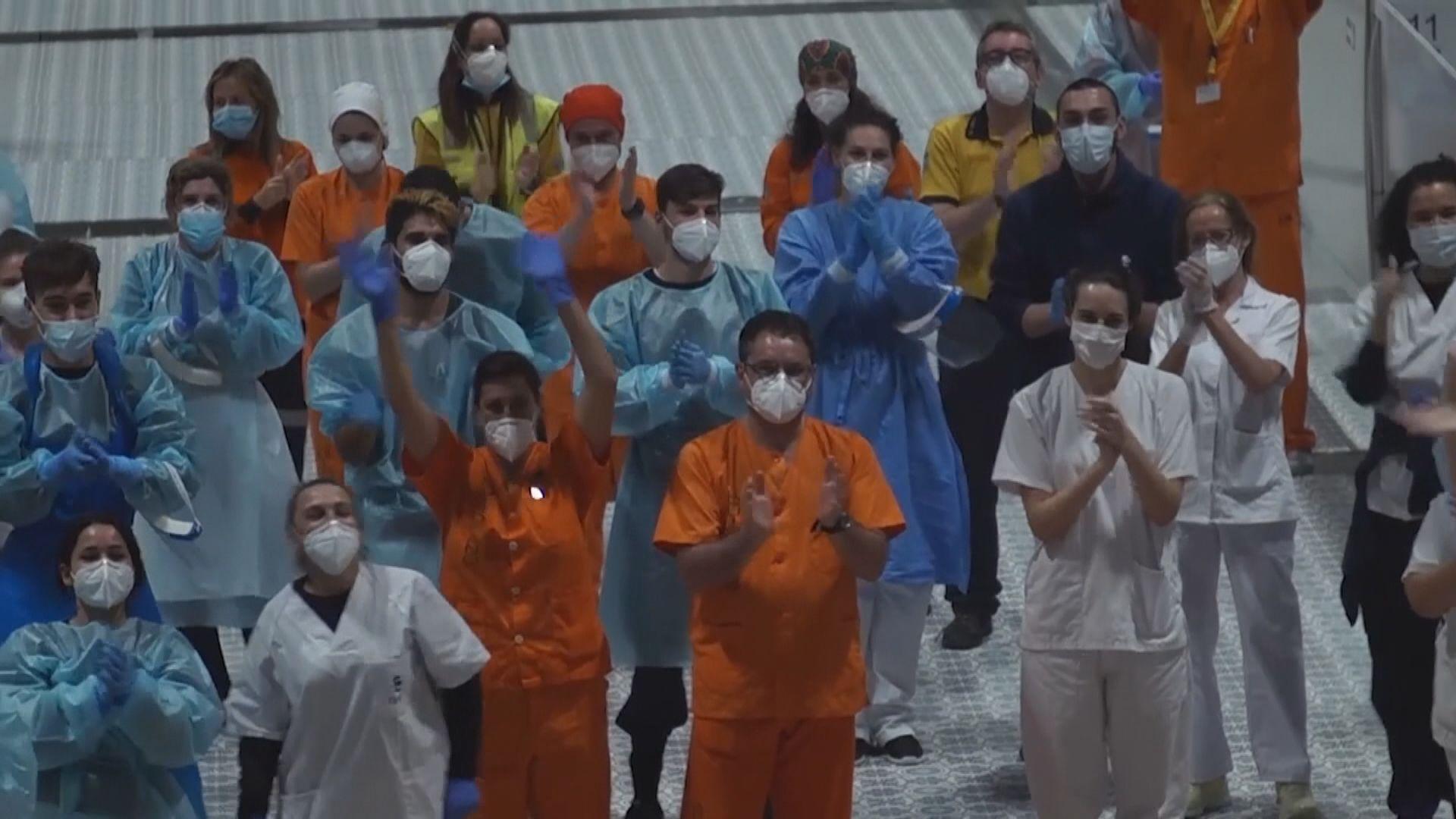 西班牙新增410宗死亡個案 創近一個月新低