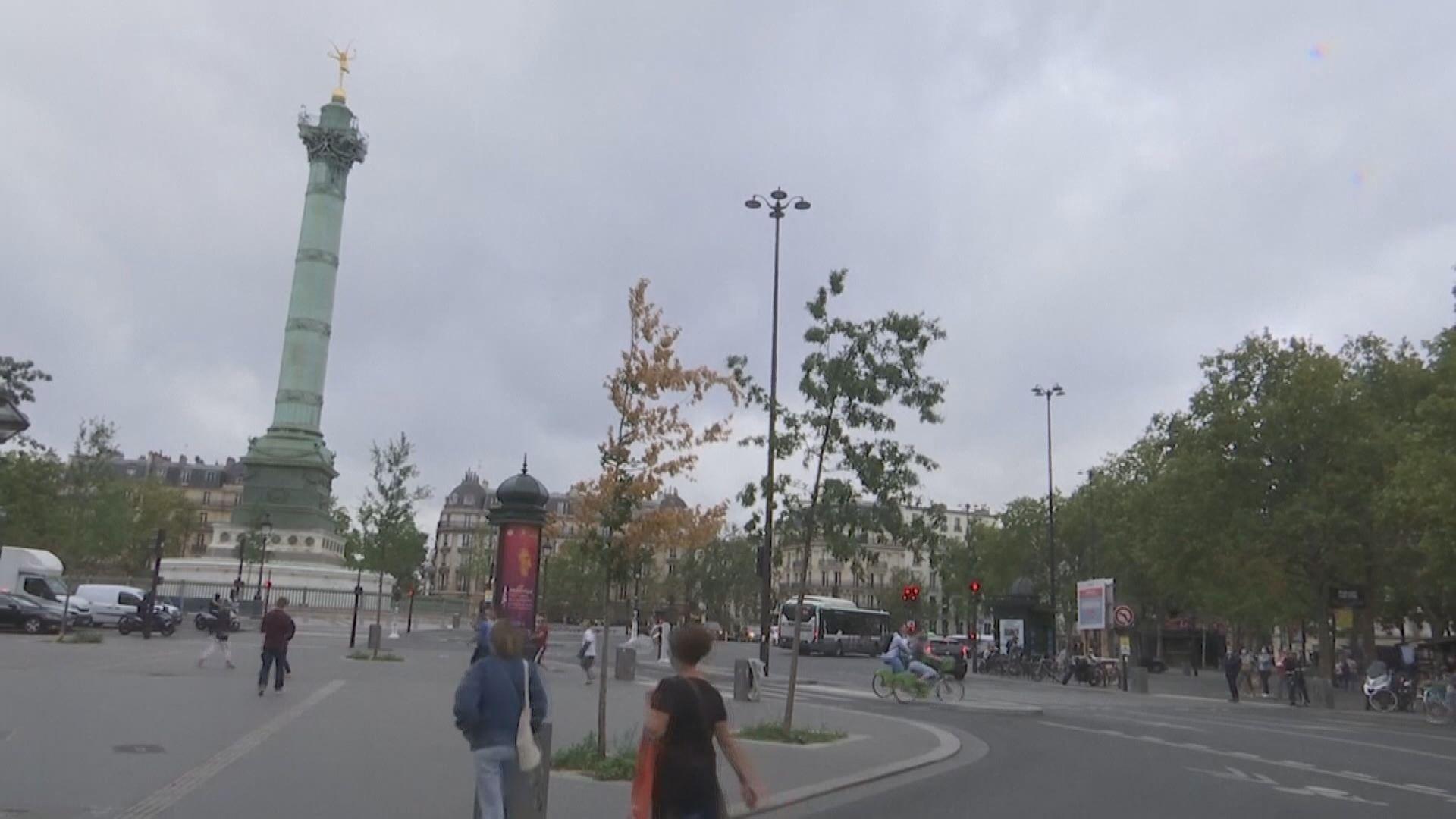 法國逾萬宗新增確診個案 創單日新高