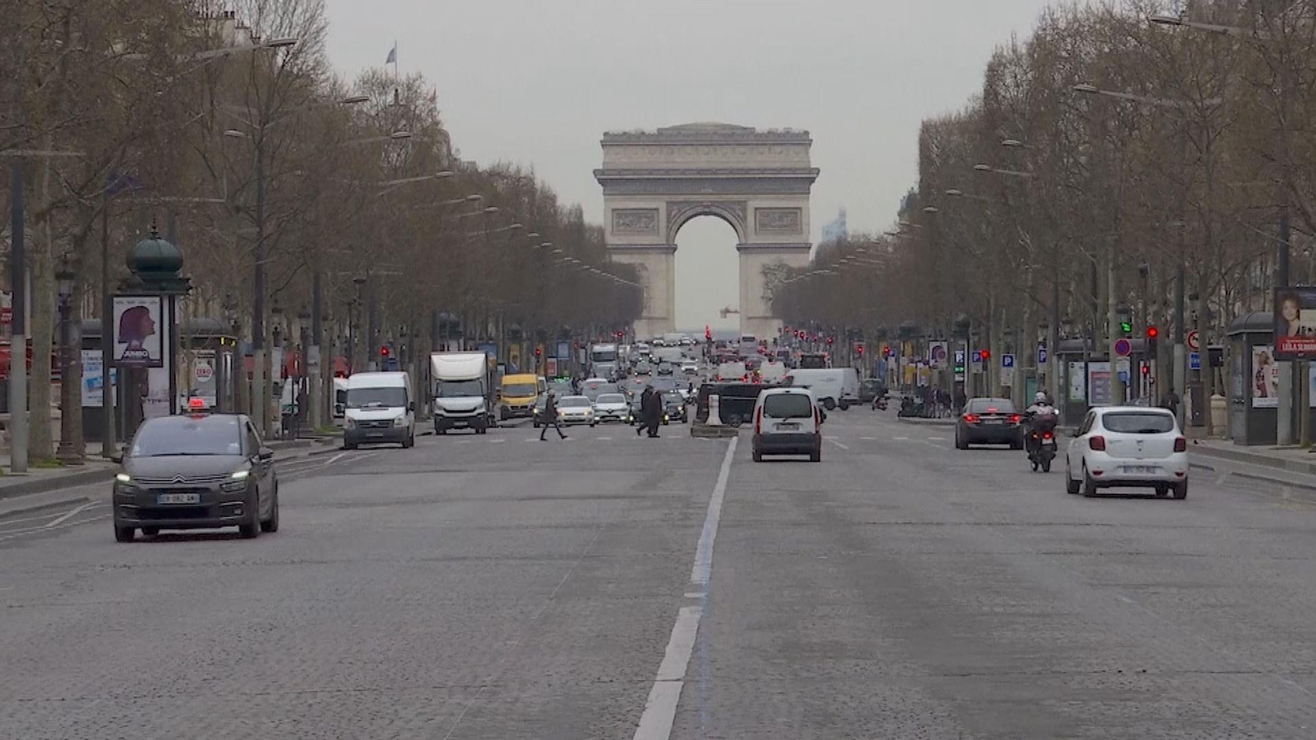 法國疫情持續 周日起禁止非歐盟民眾入境