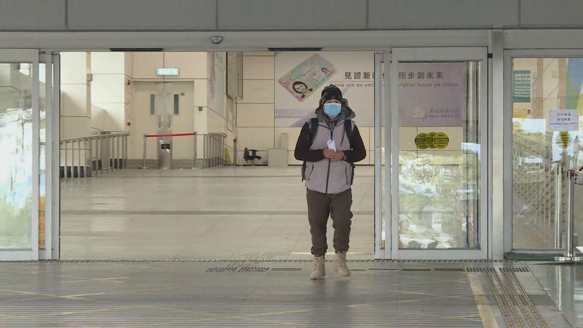 消息:政府周三公布粵澳港人回港免強制檢疫安排