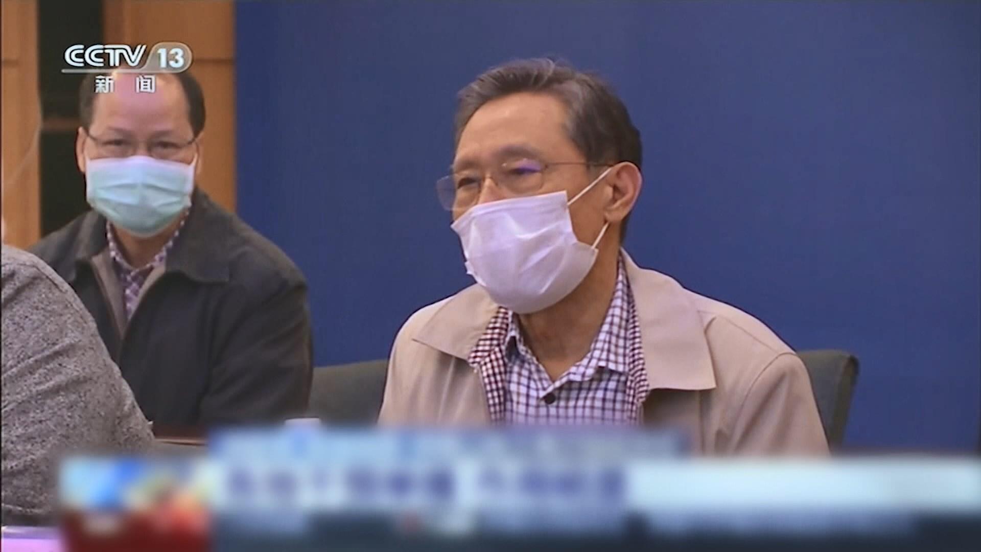 鍾南山:疫情料二月中下旬達頂峰