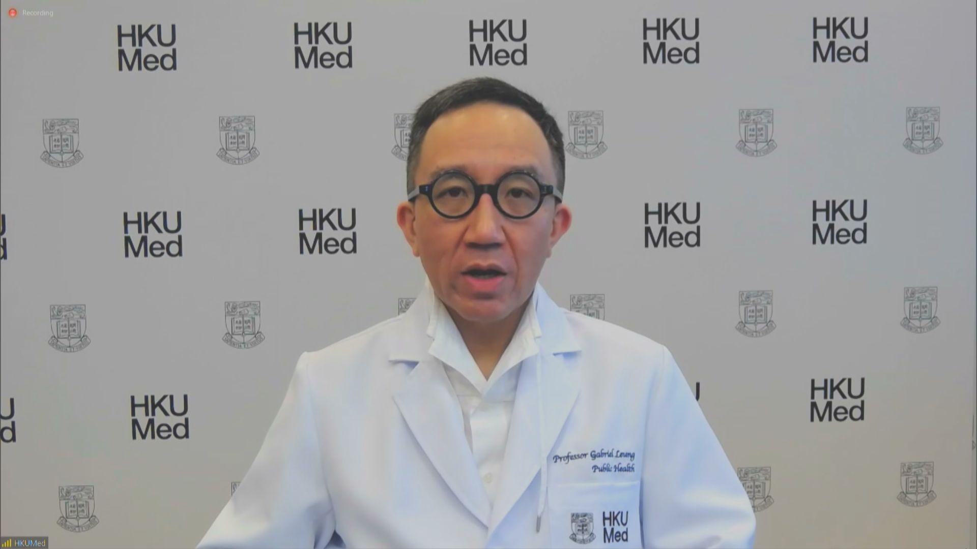 梁卓偉建議為高危地區做強制病毒檢測