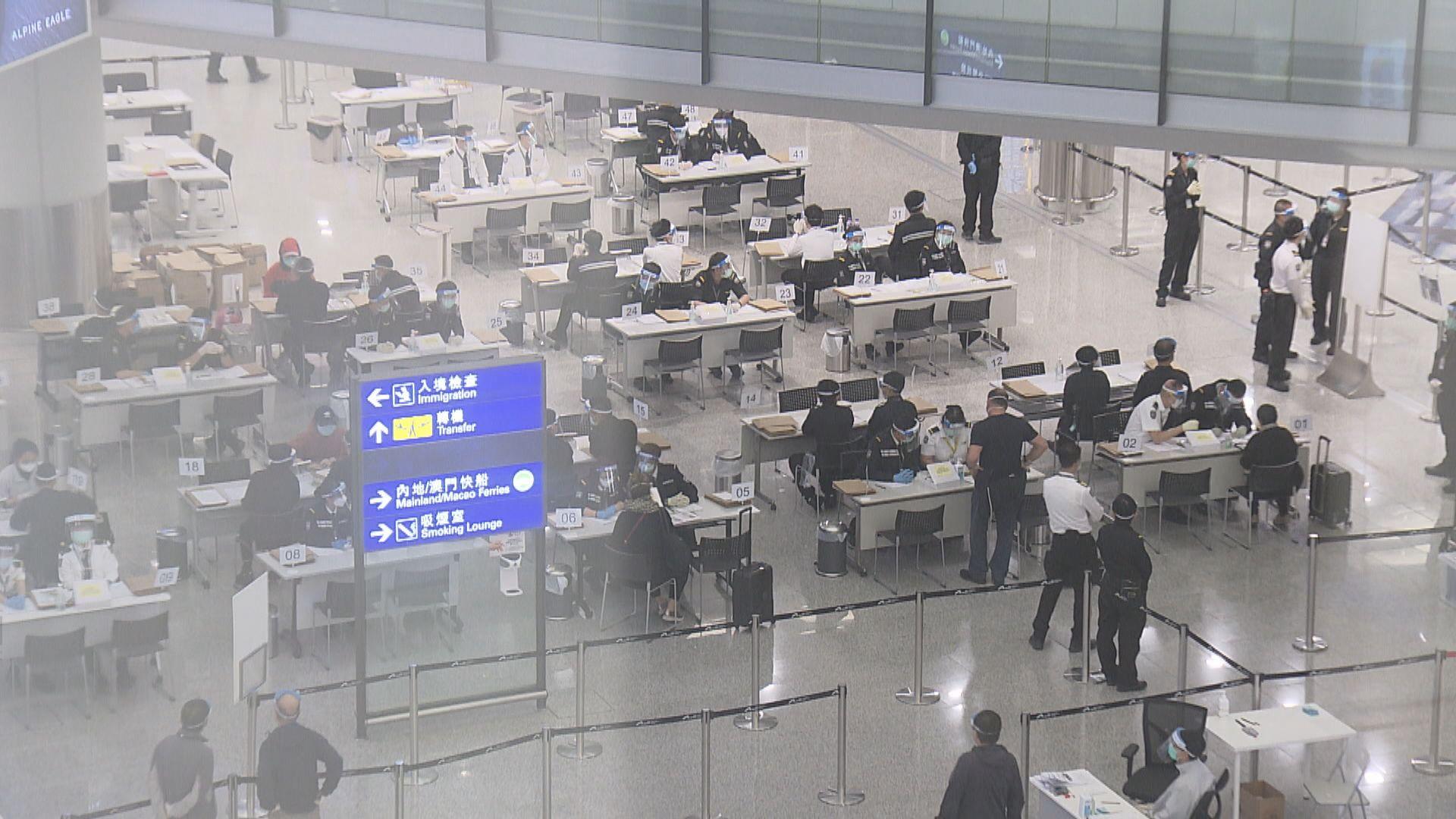 亞博臨時樣本採集中心下周二遷往機場禁區內中場客運廊