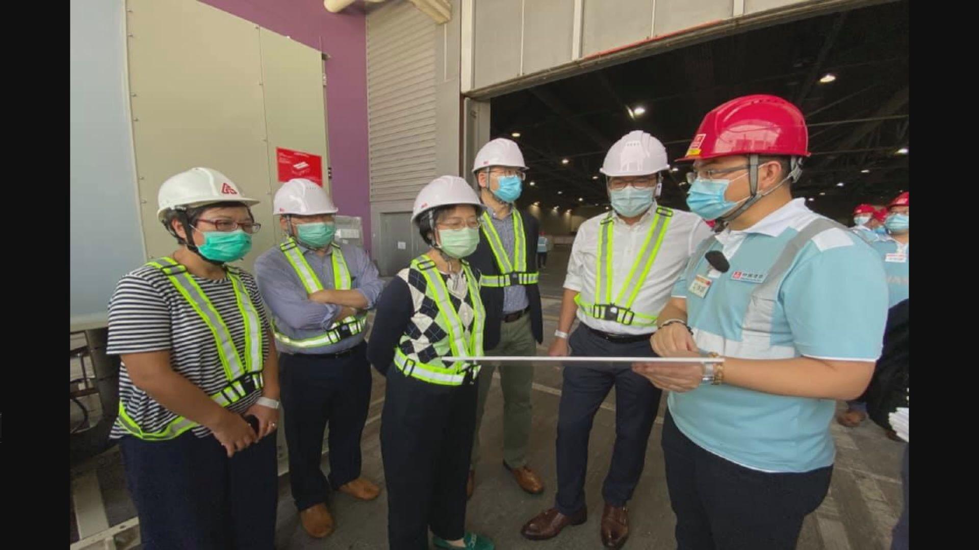 發展局﹕臨時醫院工程已交內地委聘團隊開展工作