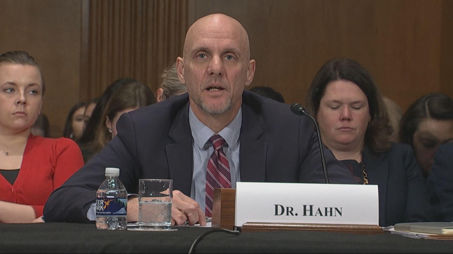 哈恩拒評論特朗普稱99%病例無害說法