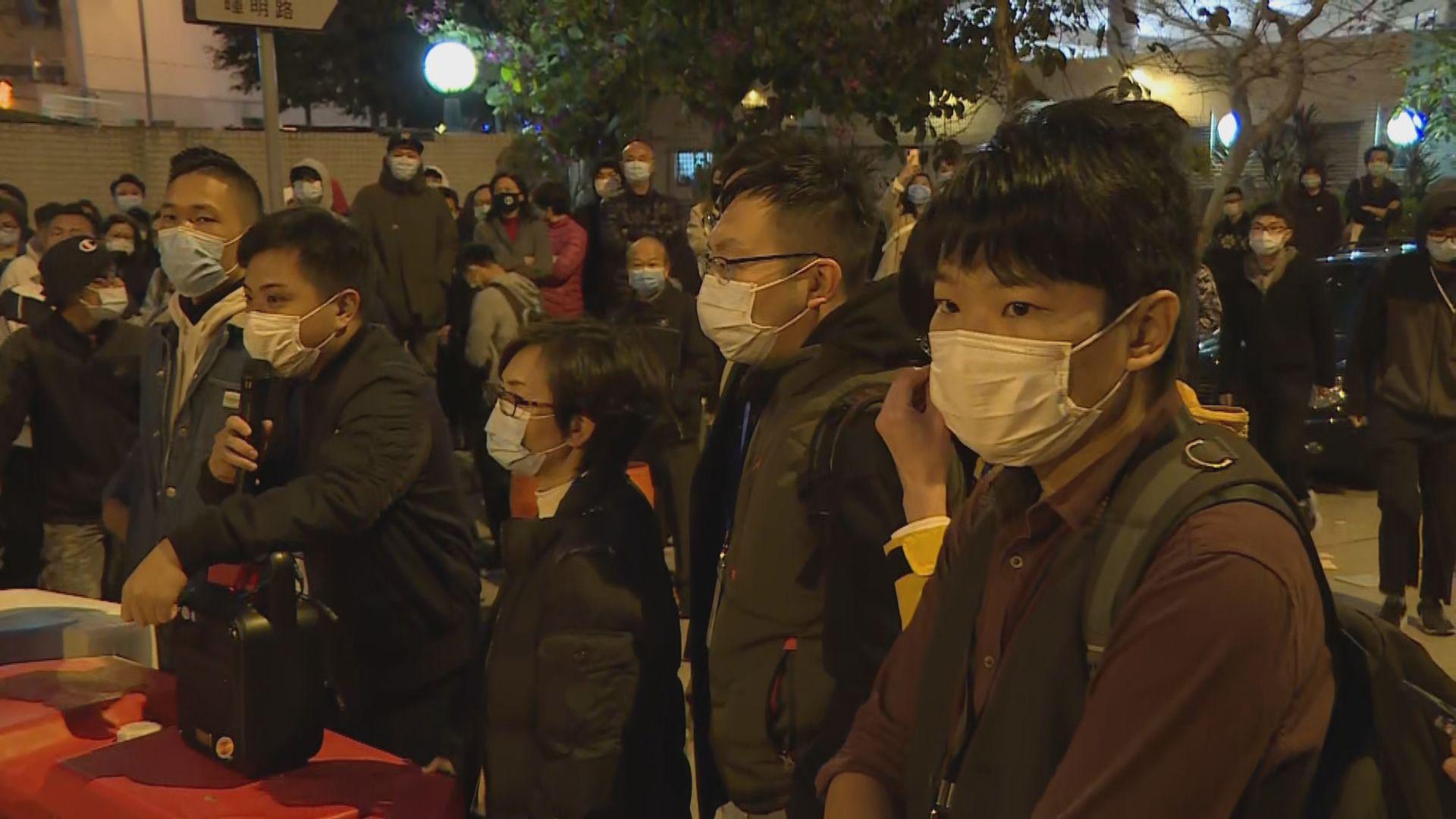 政府指周三北區區議會前暫停暉明邨相關準備工作
