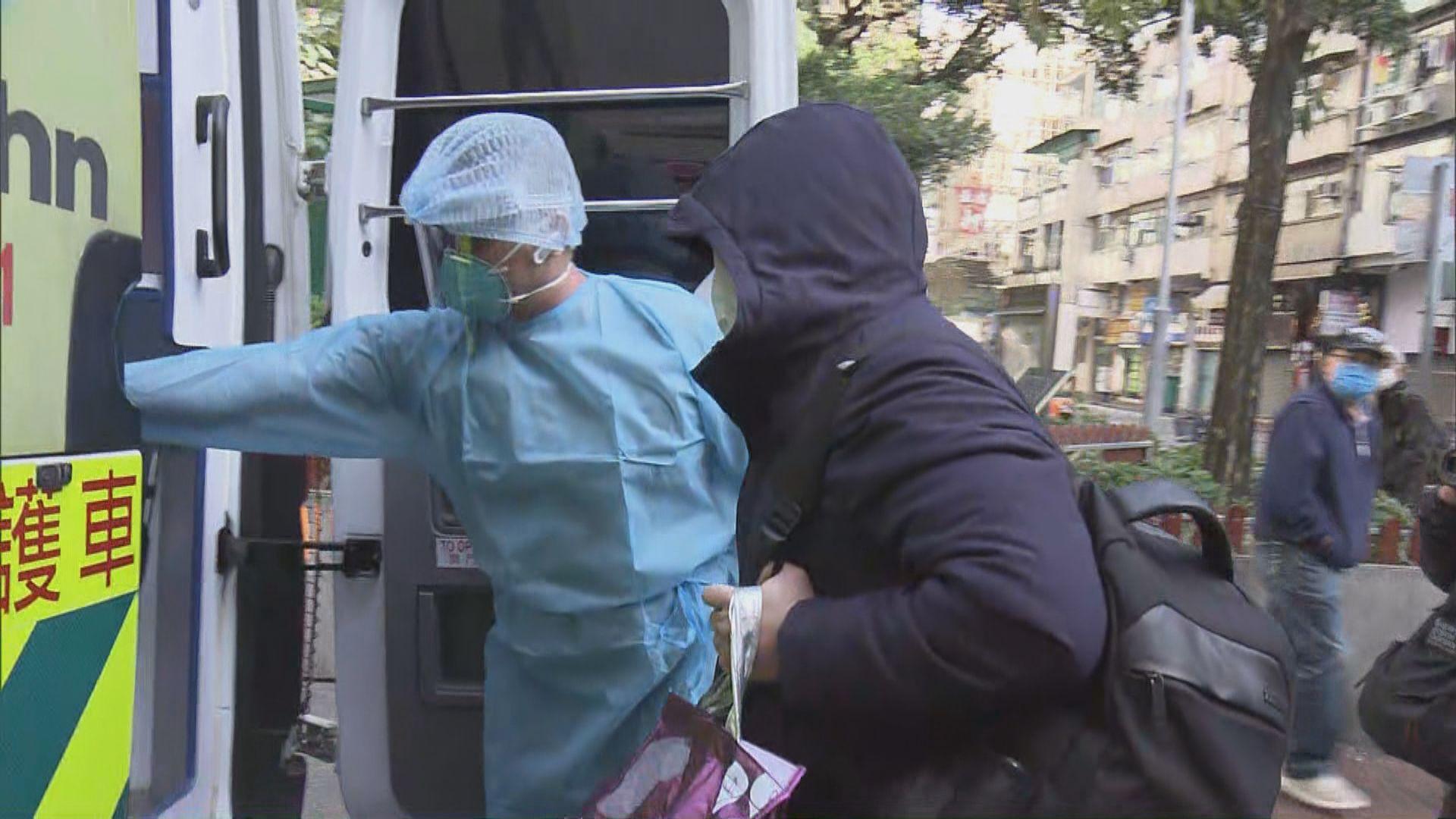 佐敦新填地街有唐樓居民撤離檢疫 區議員批安排倉促