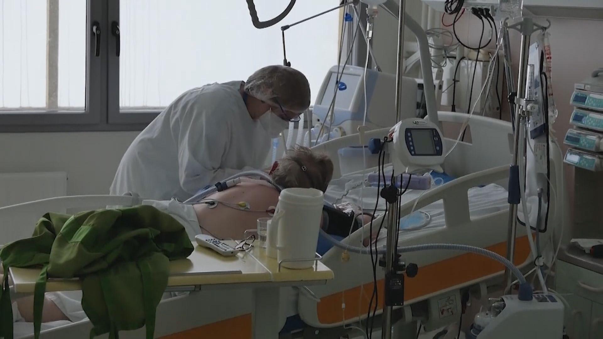 法國新冠患者死亡人數突破十萬