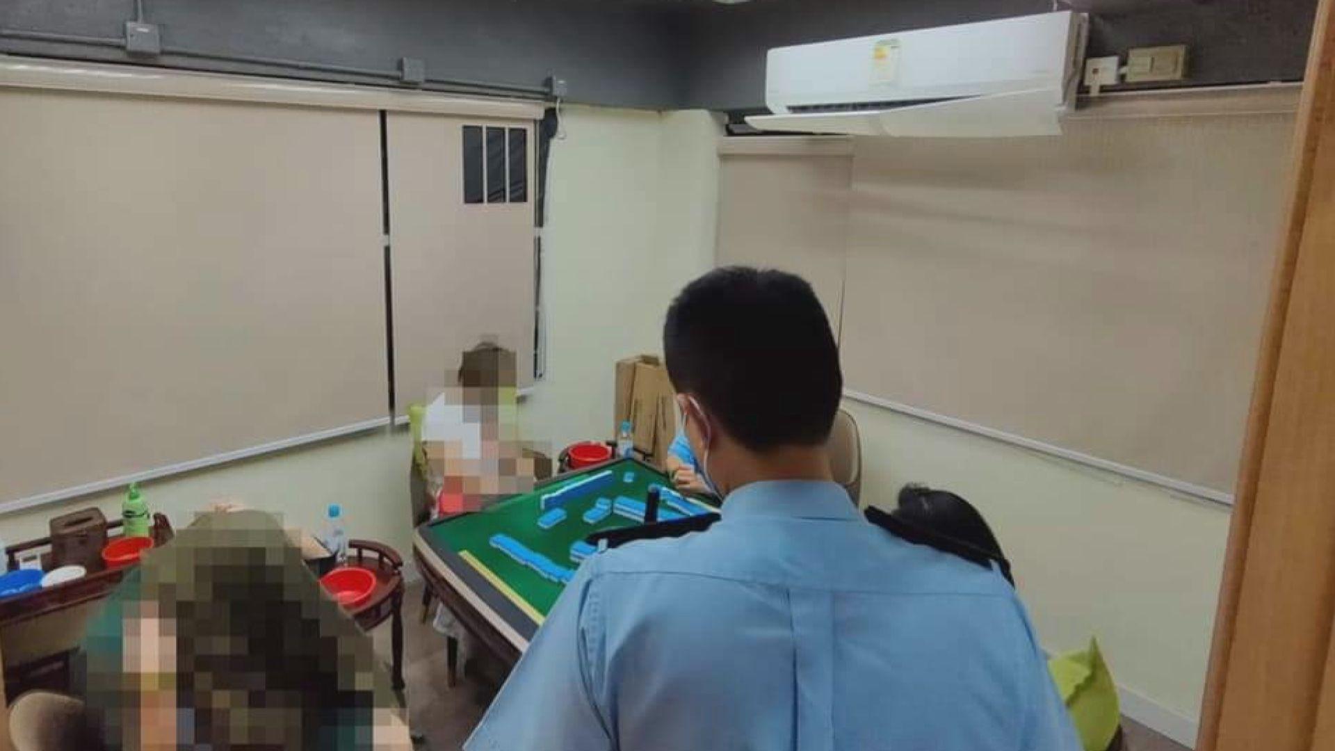 警方票控聯誼會打麻將35人涉違反限聚令