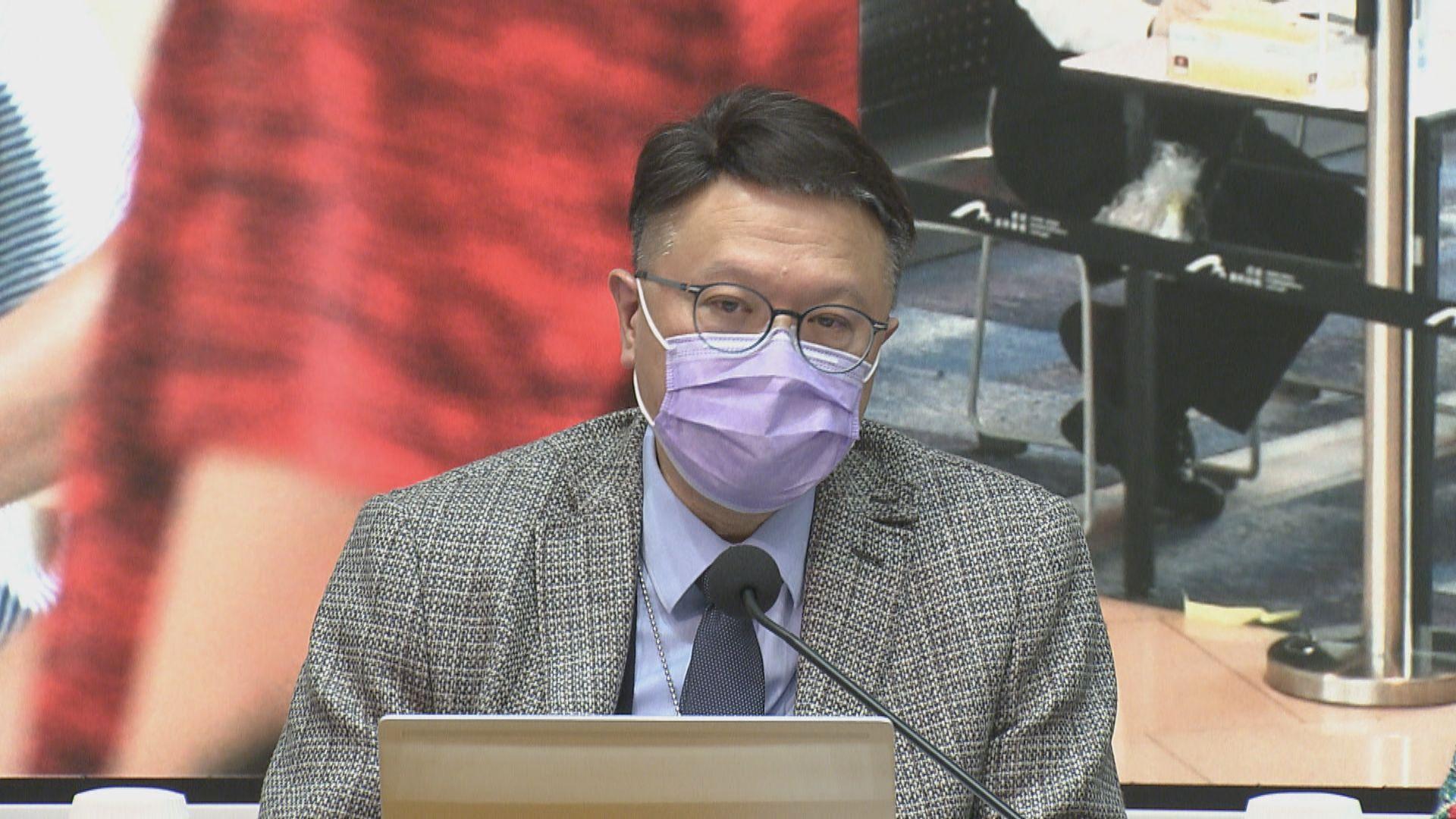 許樹昌:兒童不屬新冠疫苗優先接種群組