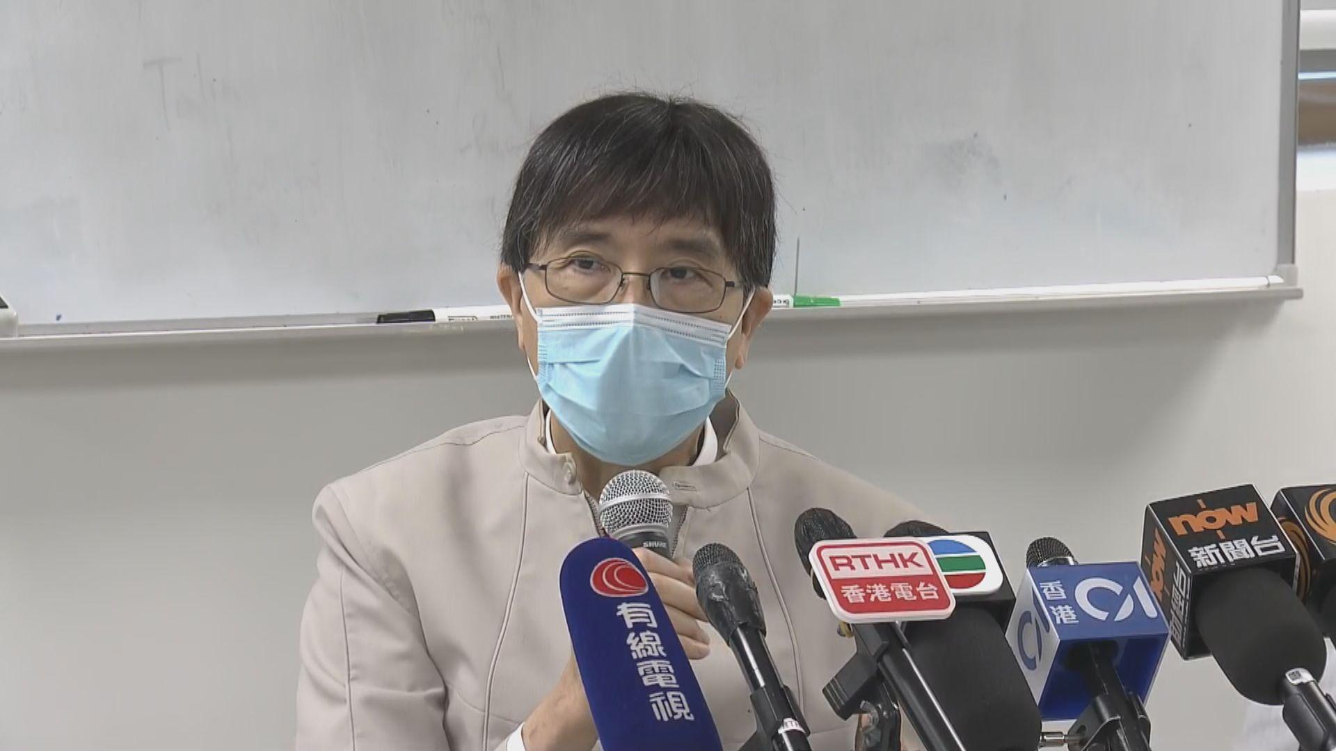 袁國勇進行實驗 證明外科口罩能減新冠病毒傳播