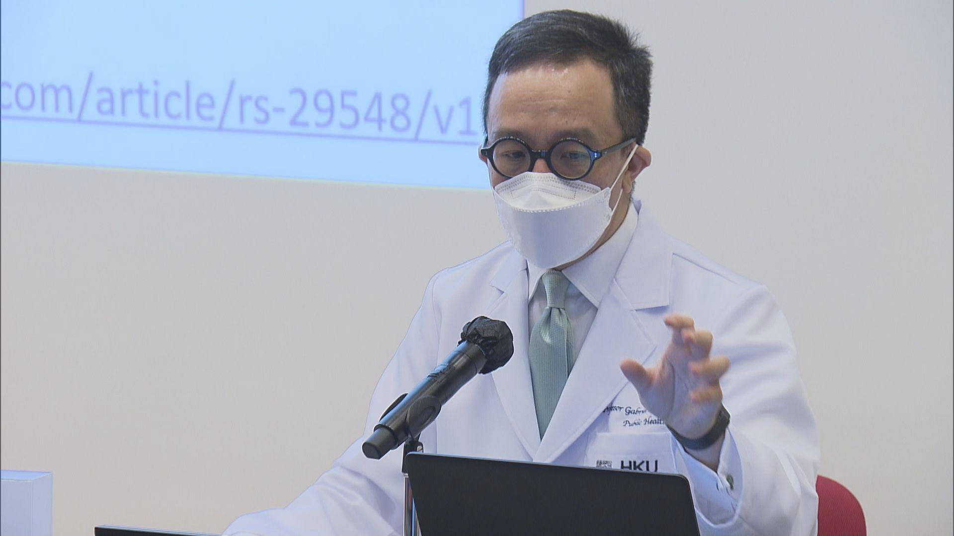 梁卓偉倡每日檢測量提升至一萬 以盡早識別隱形病人