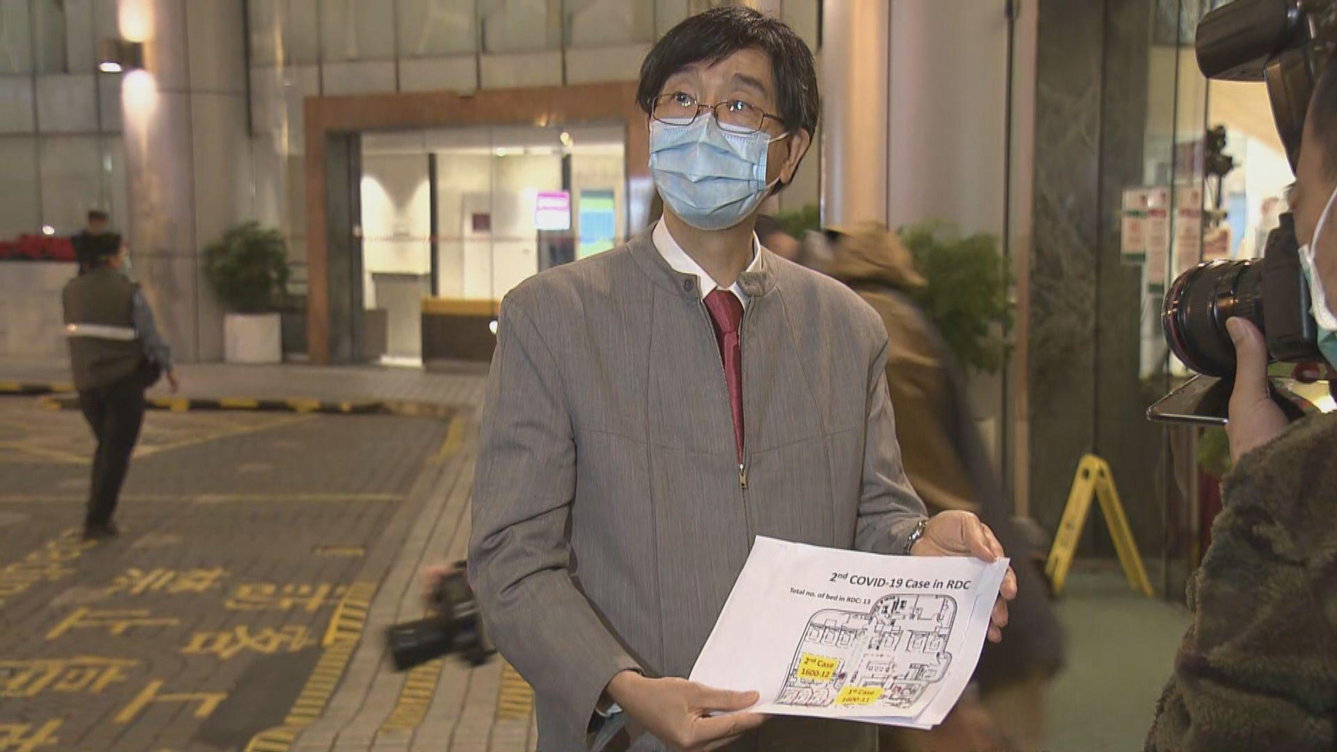 養和再有洗腎病人初步確診 袁國勇籲探病時避免脫口罩