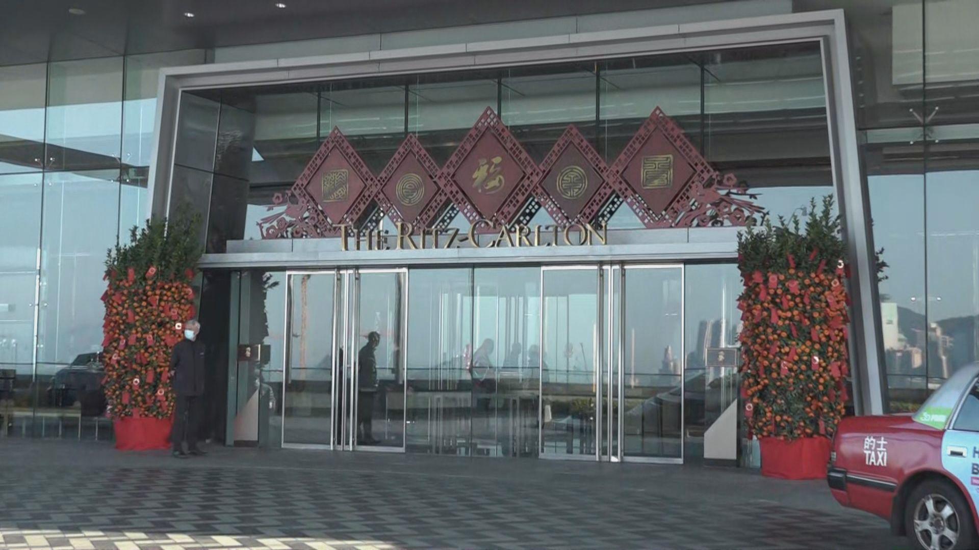 兩酒店因新型冠狀病毒患者到訪已消毒清潔