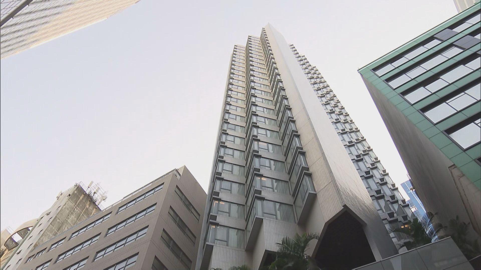 觀塘帝盛酒店被政府全幢租用作檢疫中心