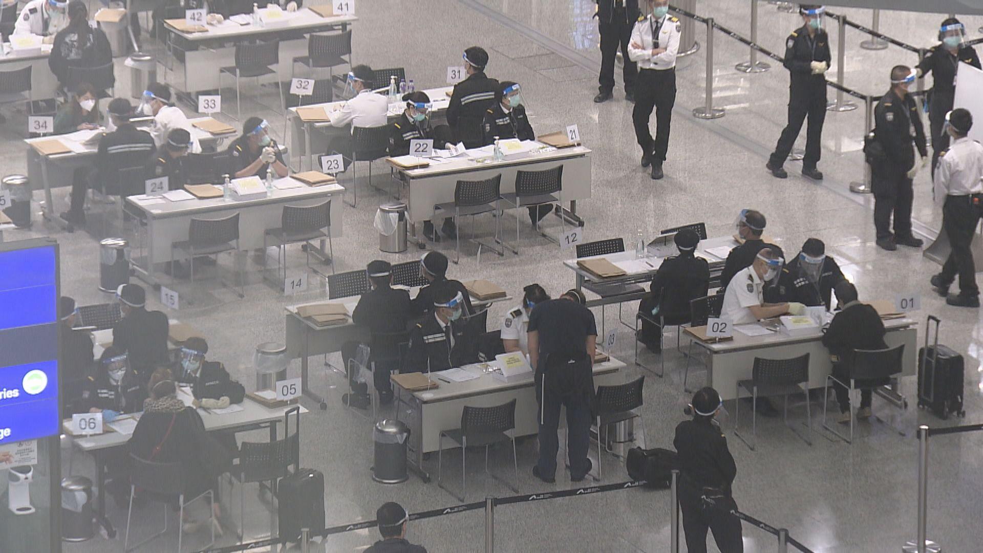 本月首九天逾九千香港居民經機場返港