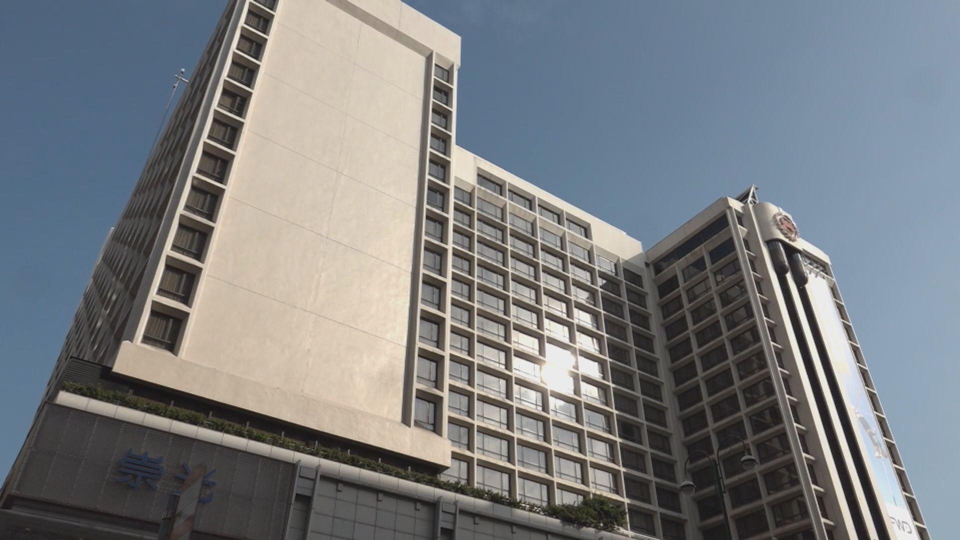 指定酒店下周轉作檢疫用途 業界指中價酒店訂房不理想