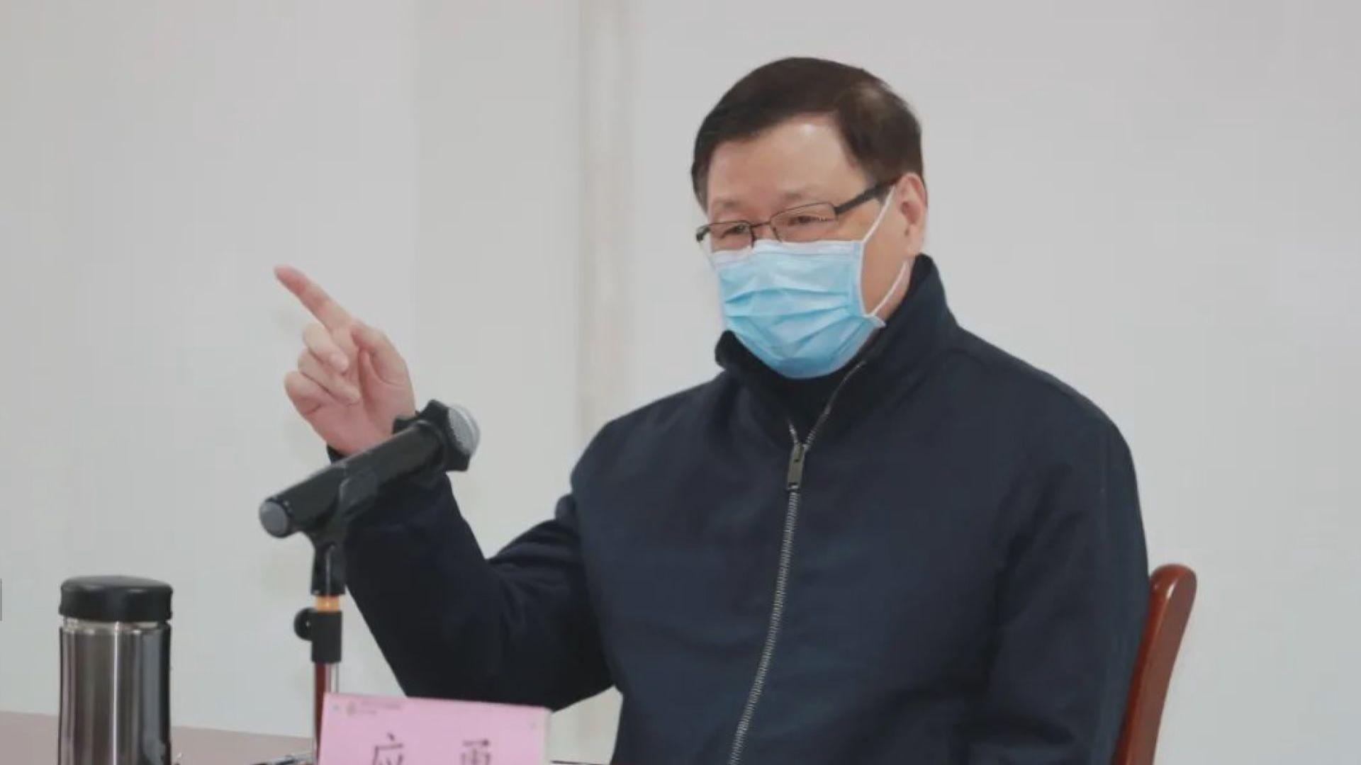 湖北省委書記應勇:嚴格管控離開武漢通道