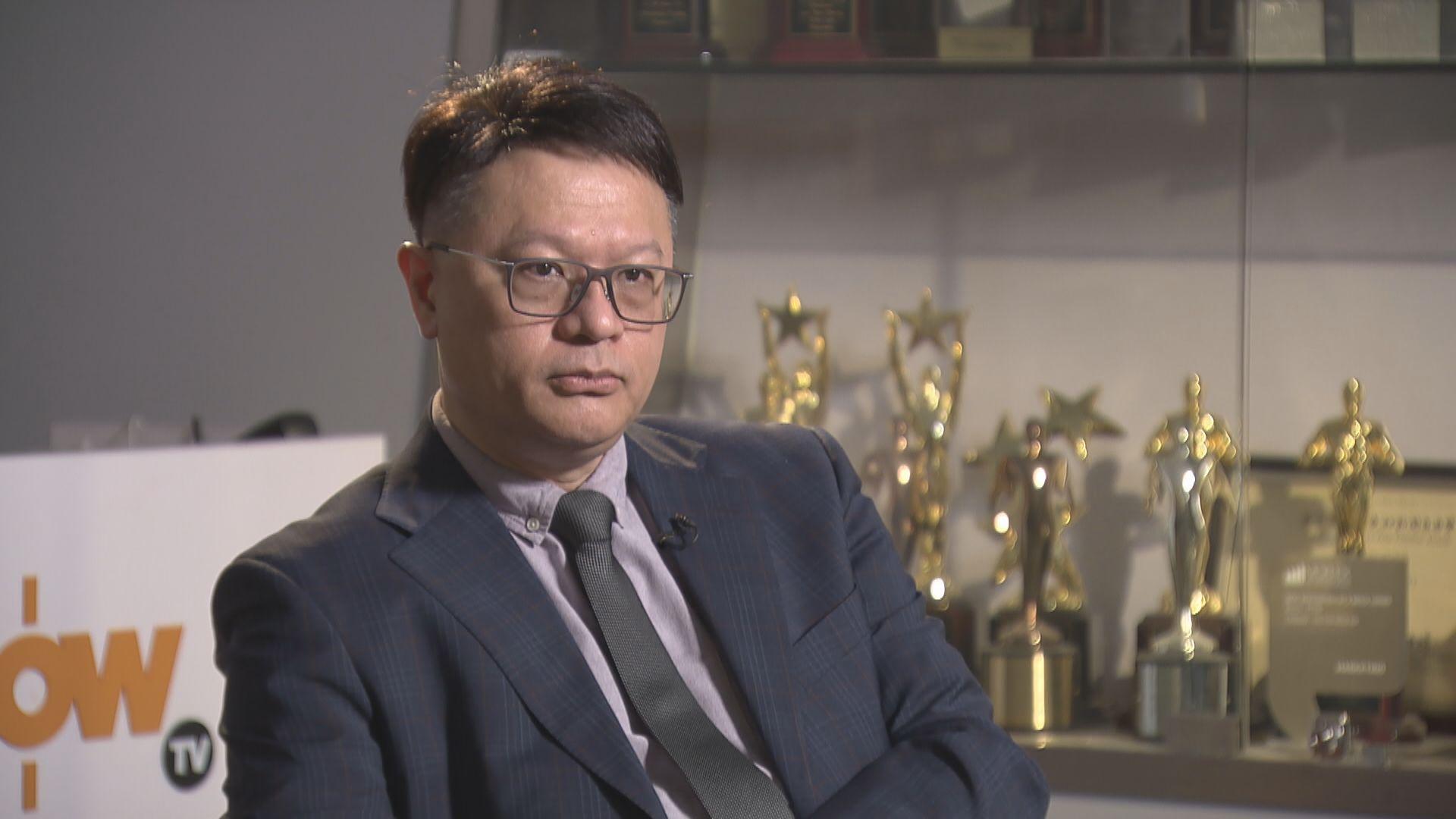 許樹昌:市民病徵持續一兩天應做病毒檢測