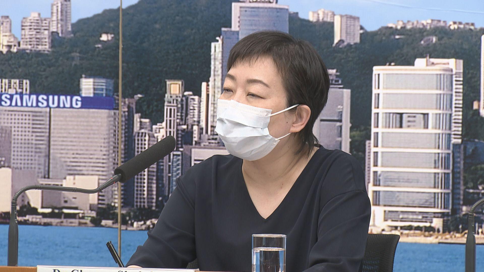 張竹君:考慮加強檢測豁免檢疫抵港人士
