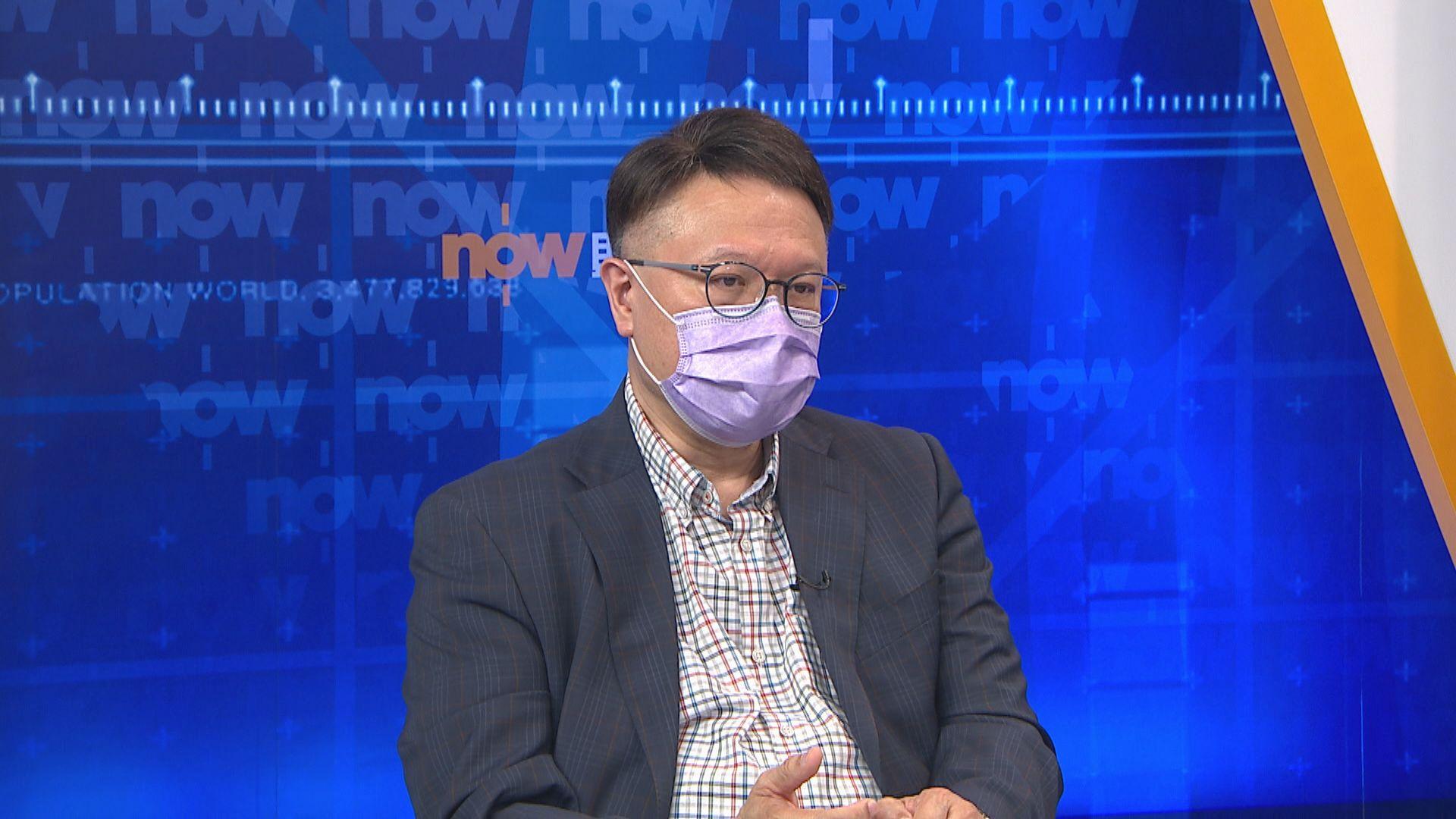 許樹昌:社區仍有不明源頭個案 外出要縮短除口罩時間
