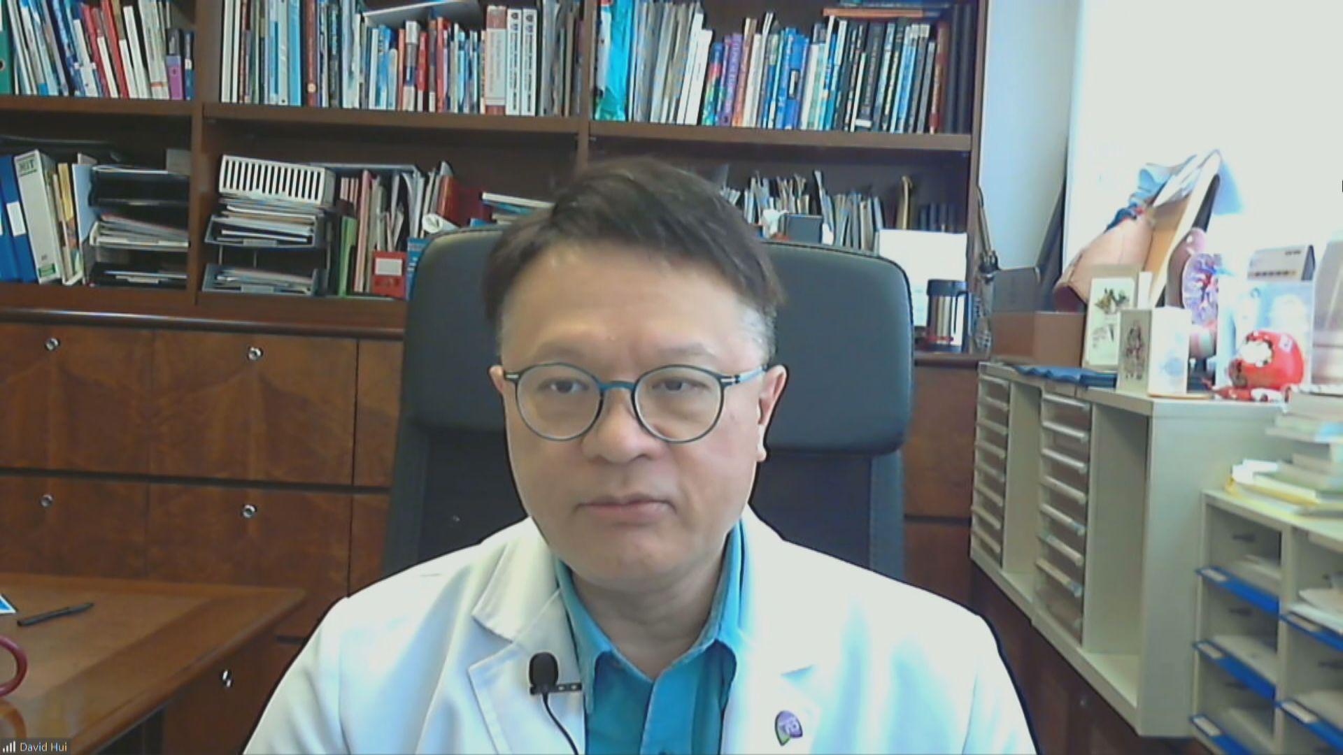 許樹昌:長者適合接種流感疫苗 原則上可接種新冠疫苗