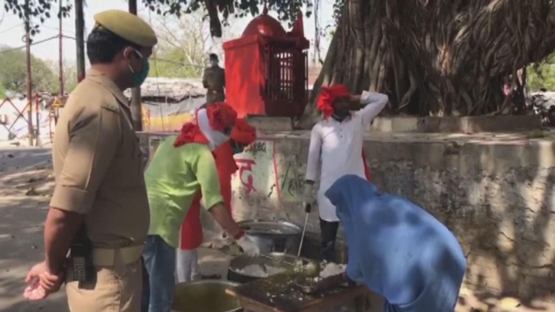 印度鎖國民工滯留 若爆疫情恐觸發人道危機