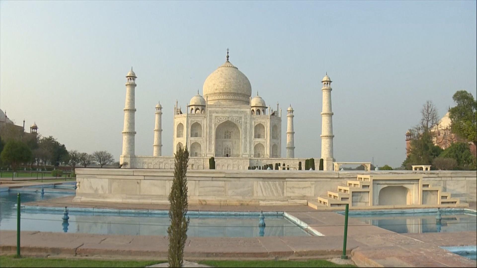 印度延遲重開著名景點泰姬陵