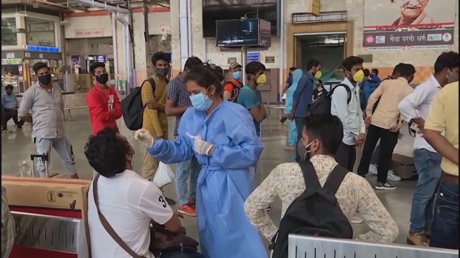 印度新增逾23萬宗新冠病毒確診個案
