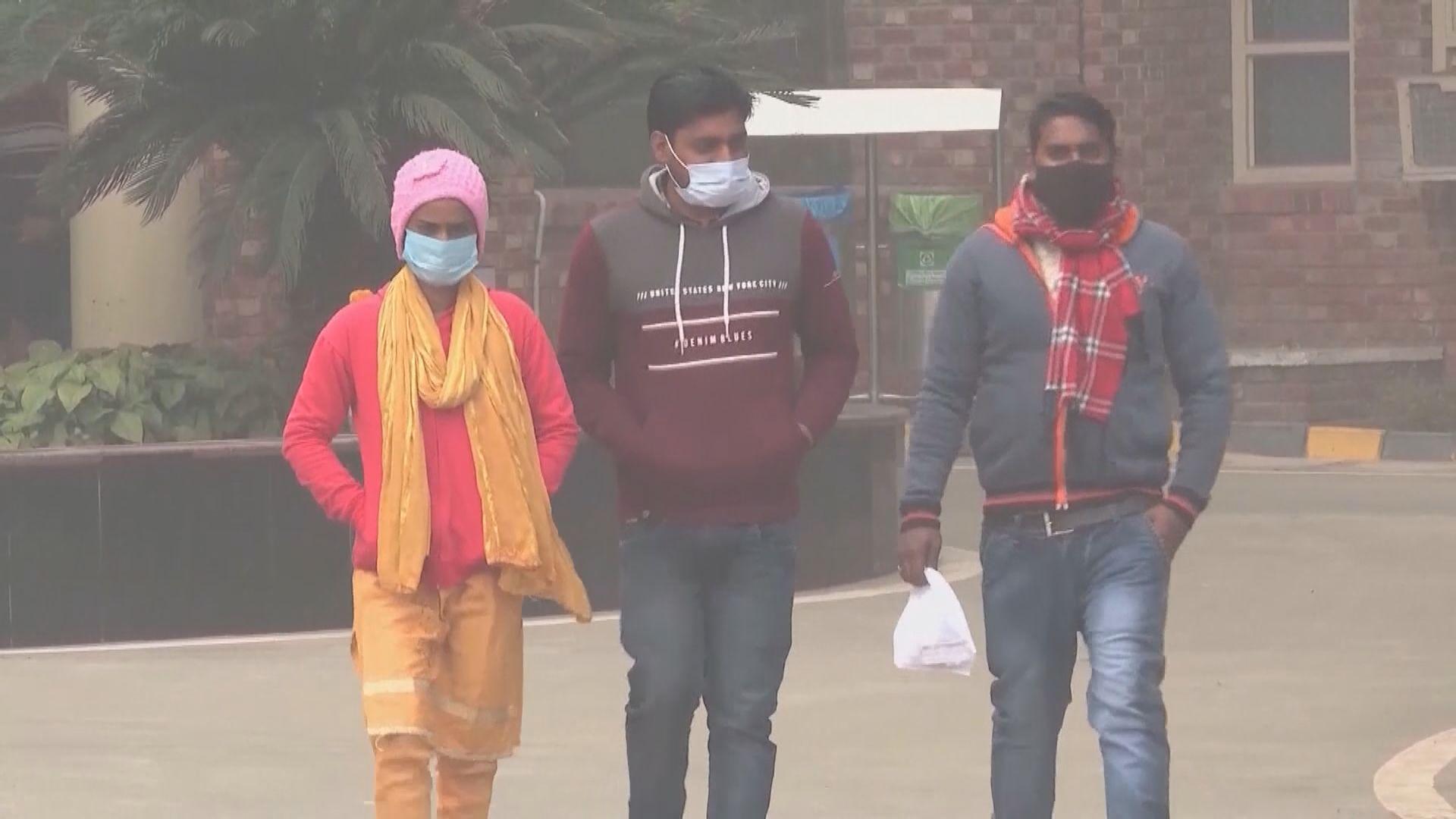 印度新冠疫情大幅反彈 新德里展開為期一周封城措施