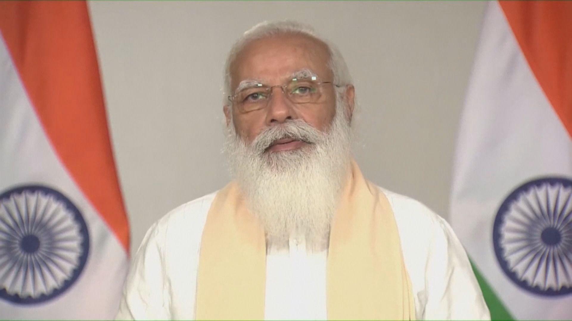 印度疫情嚴峻 總理莫迪稱不會全國封城