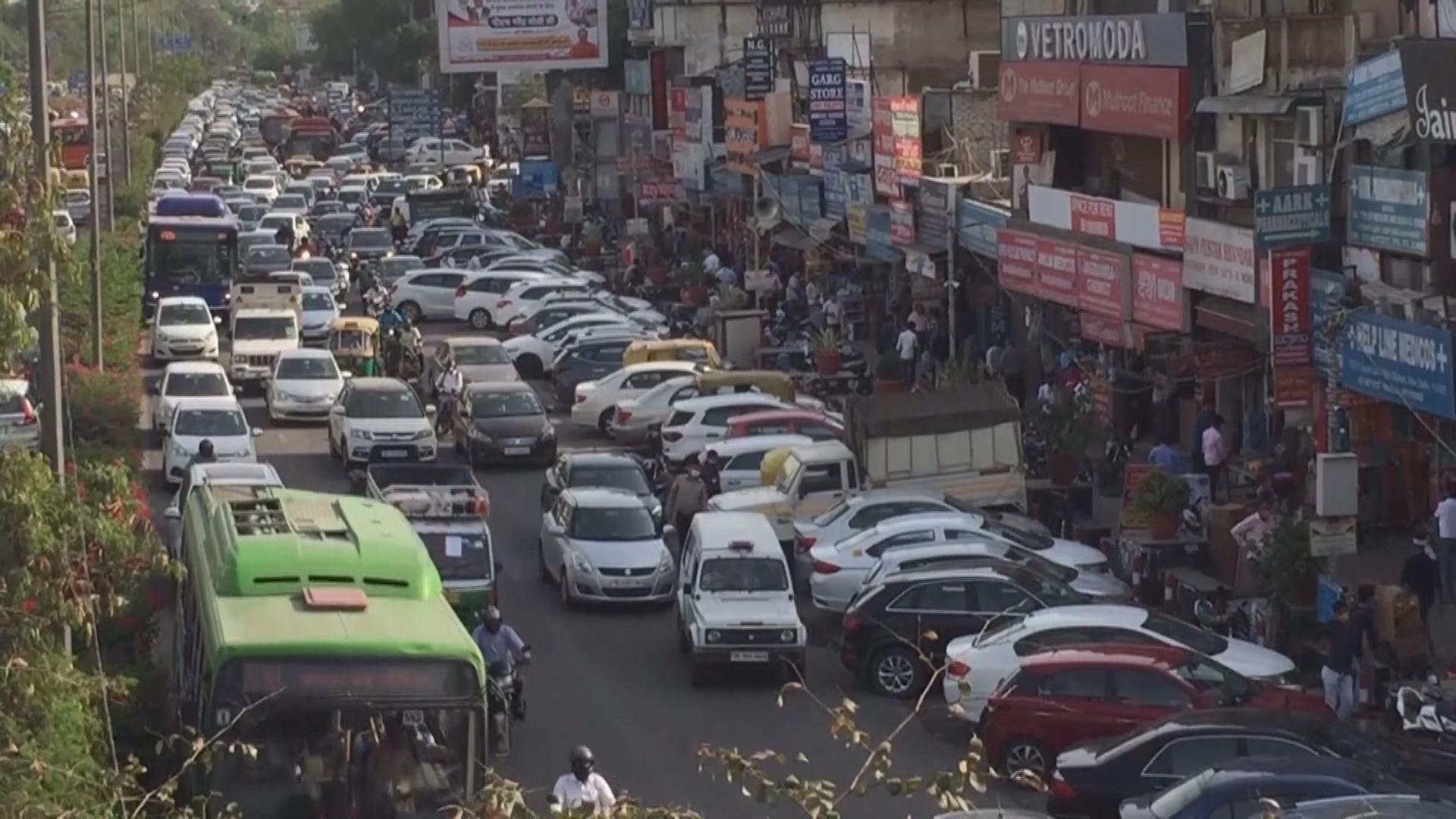印度增逾34萬宗新冠病例 再創全球單日新高